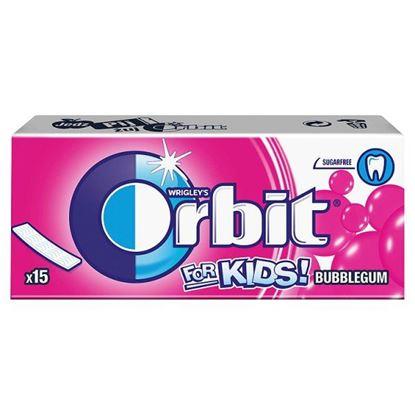 Obrazek Orbit For Kids Classic Guma do żucia bez cukru 39 g (15 listków)