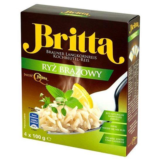 Obrazek Britta Ryż brązowy 400 g (4 sztuki)