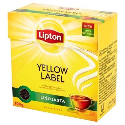Obrazek Lipton Yellow Label Herbata czarna liściasta 100 g