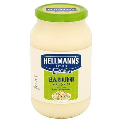 Obrazek Hellmann's Babuni Majonez 650 ml