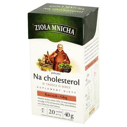Obrazek Big-Active Zioła Mnicha Na cholesterol Suplement diety Herbatka ziołowa 40 g (20 torebek)