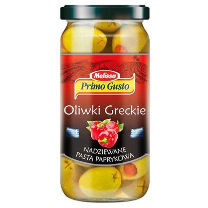 Obrazek Primo Gusto Melissa Oliwki greckie nadziewane pastą paprykową 240 g