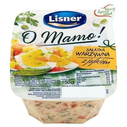 Obrazek Lisner O Mamo! Sałatka warzywna z jajkiem 150 g