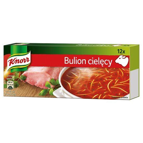 Obrazek Knorr Bulion cielęcy 120 g (12 kostek)