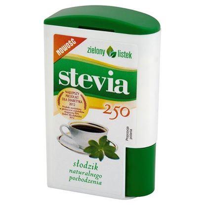 Obrazek Zielony listek Stevia Słodzik naturalnego pochodzenia 13,8 g (250 tabletek)