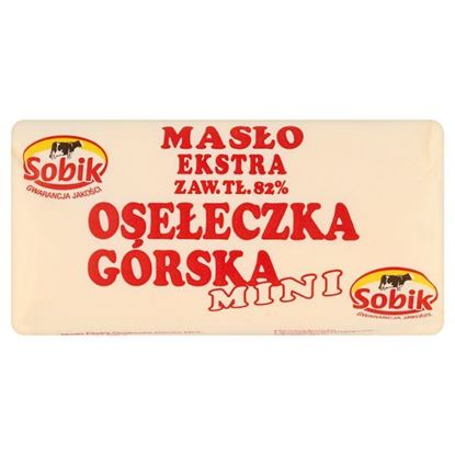 Obrazek Sobik Masło Ekstra Osełeczka Górska Mini 100 g