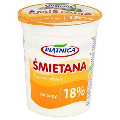 Obrazek Piątnica Śmietana do zupy 18% 400 g