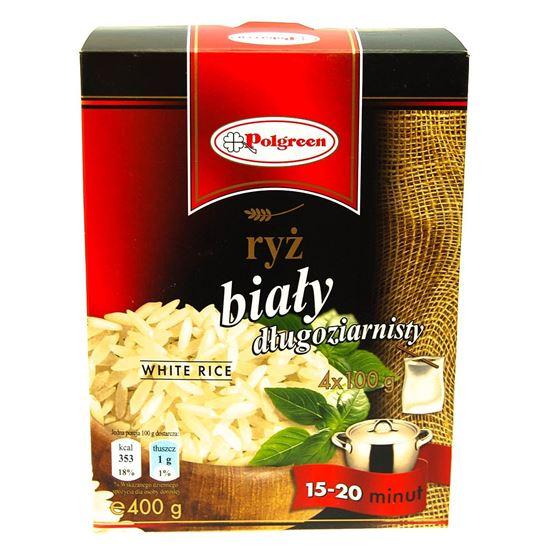 Obrazek Polgreen ryż biały 4 x 100 g