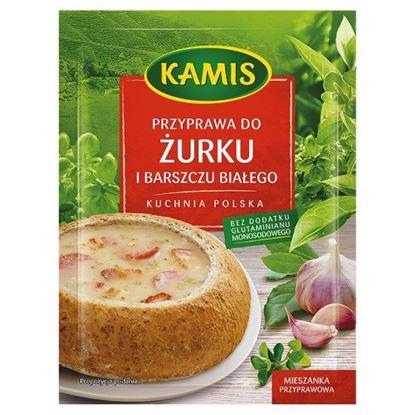Obrazek Kamis Kuchnia polska Przyprawa do żurku i barszczu białego Mieszanka przyprawowa 25 g