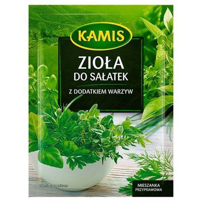 Obrazek Kamis Zioła do sałatek z dodatkiem warzyw Mieszanka przyprawowa 10 g