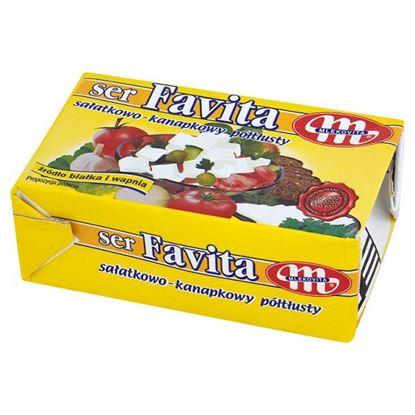 Obrazek Mlekovita Favita Ser sałatkowo-kanapkowy półtłusty 270 g