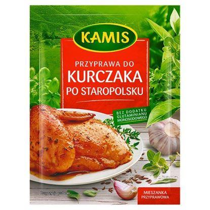 Obrazek Kamis Przyprawa do kurczaka po staropolsku Mieszanka przyprawowa 25 g