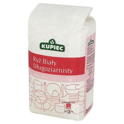 Obrazek Kupiec Ryż biały długoziarnisty 1 kg
