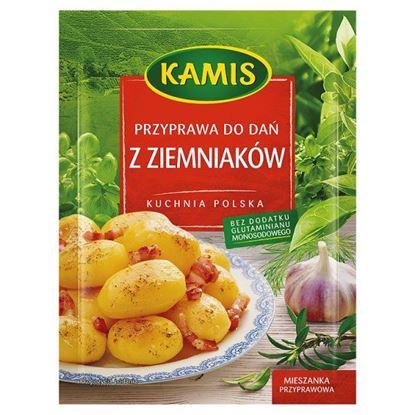 Obrazek Kamis Kuchnia polska Przyprawa do dań z ziemniaków Mieszanka przyprawowa 25 g