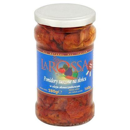 Obrazek La Rossa Pomidory suszone na słońcu w oleju słonecznikowym 280 g