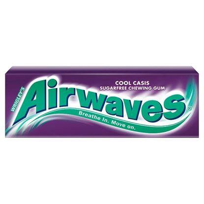 Obrazek Airwaves Cool Cassis Guma do żucia bez cukru 14 g (10 drażetek)