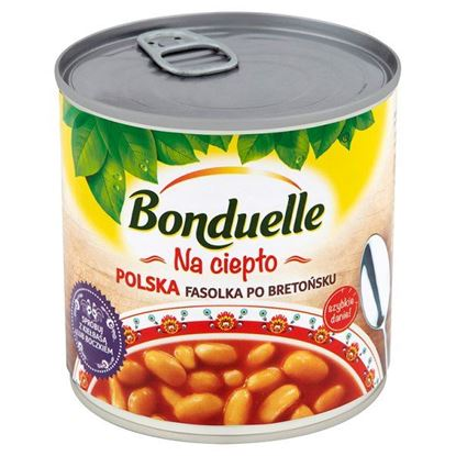 Obrazek Bonduelle Na ciepło Polska fasolka po bretońsku 430 g