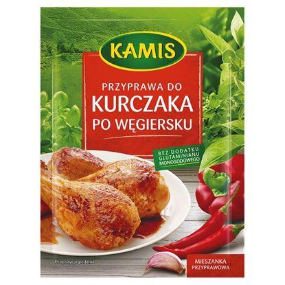 Obrazek Kamis Przyprawa do kurczaka po węgiersku Mieszanka przyprawowa 25 g