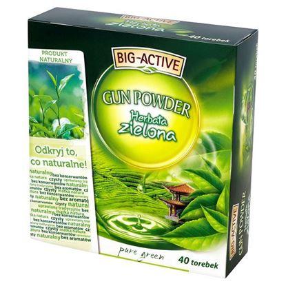 Obrazek Big-Active Gun Powder Pure Green Herbata zielona 72 g (40 torebek)
