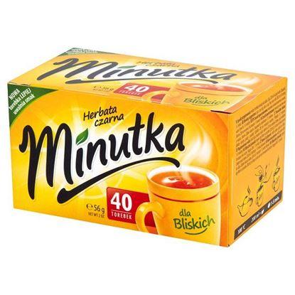 Obrazek Minutka Herbata czarna 56 g (40 torebek)