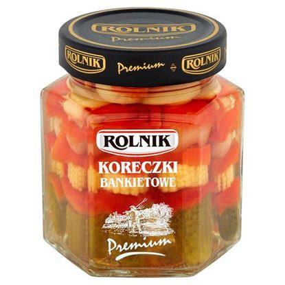 Obrazek Rolnik Premium Koreczki bankietowe 320 g