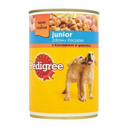 Obrazek Pedigree Junior z kurczakiem w galaretce Karma pełnoporcjowa 400 g