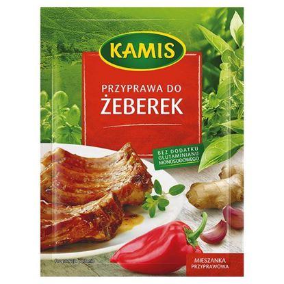 Obrazek Kamis Przyprawa do żeberek Mieszanka przyprawowa 25 g