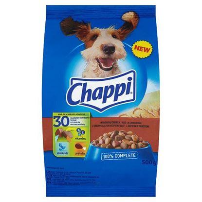 Obrazek Chappi z wołowiną i drobiem Karma pełnoporcjowa 500 g