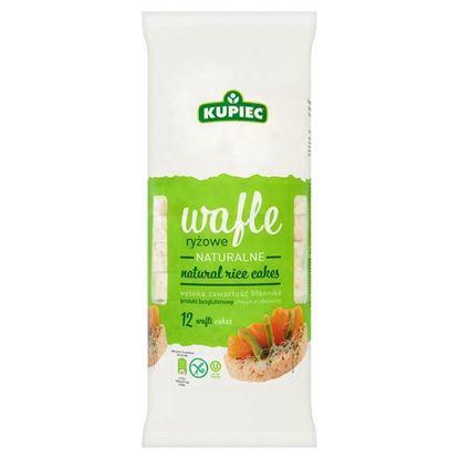 Obrazek Kupiec Wafle ryżowe naturalne 120 g (12 sztuk)