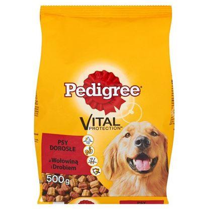 Obrazek Pedigree Vital Protection z wołowiną i drobiem Psy dorosłe Karma pełnoporcjowa 500 g