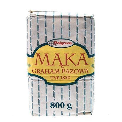 Obrazek Polgreen mąka graham razowa typ 1850 800 g
