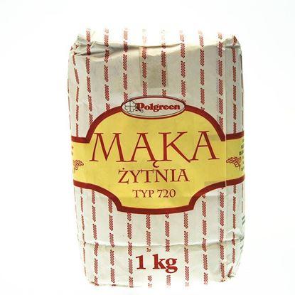 Obrazek Polgreen mąka żytnia typ 720 1000 g