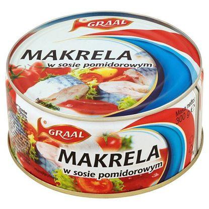 Obrazek GRAAL Makrela w sosie pomidorowym 300 g