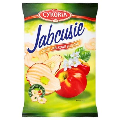 Obrazek Cykoria Jabcusie Chipsy jabłkowe suszone 40 g