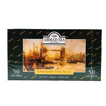 Obrazek Ahmad Tea English No. 1 Herbata czarna 50tb
