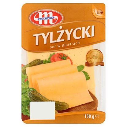 Obrazek Mlekovita Ser Tylżycki w plastrach 150 g