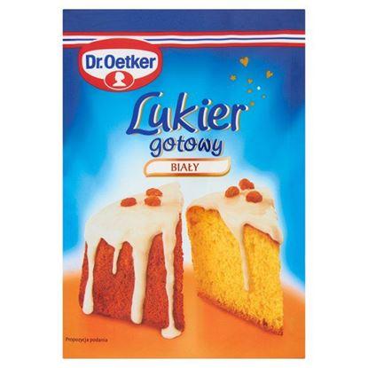 Obrazek Dr. Oetker Lukier gotowy biały 100 g