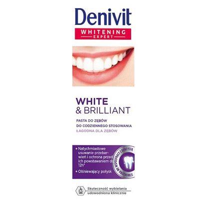 Obrazek Denivit White & Brilliant Pasta do zębów do codziennego stosowania 50 ml