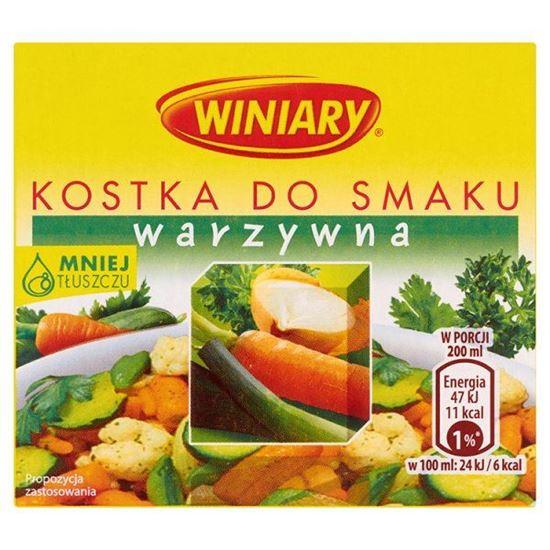 Obrazek Winiary Kostka do smaku warzywna 60 g (6 kostek)