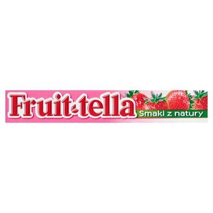 Obrazek Fruittella Cukierki do żucia o smaku truskawkowym 41 g