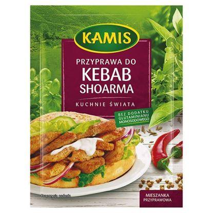 Obrazek Kamis Kuchnie świata Przyprawa do kebab shoarma Mieszanka przyprawowa 25 g