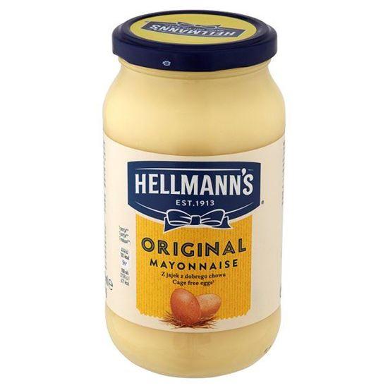 Obrazek Hellmann's Oryginalny Majonez 420 ml
