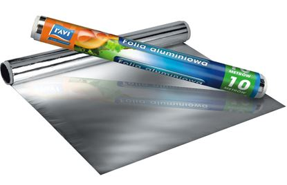 Obrazek Ravi folia aluminiowa 10 cm x 30 cm