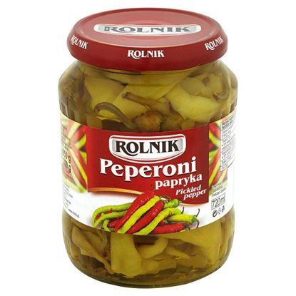 Obrazek Rolnik Peperoni papryka 650 g