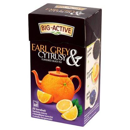 Obrazek Big-Active Earl Grey & Cytrusy Herbata czarna z cytrusami 40 g (20 torebek)