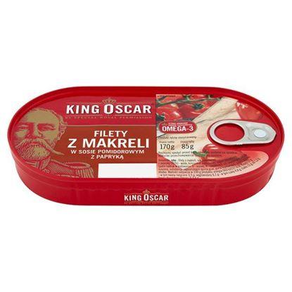 Obrazek King Oscar Szproty w sosie pomidorowym 170 g