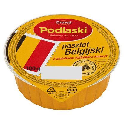 Obrazek Drosed Podlaski Pasztet Belgijski z dodatkiem wątróbki z kurcząt 100 g