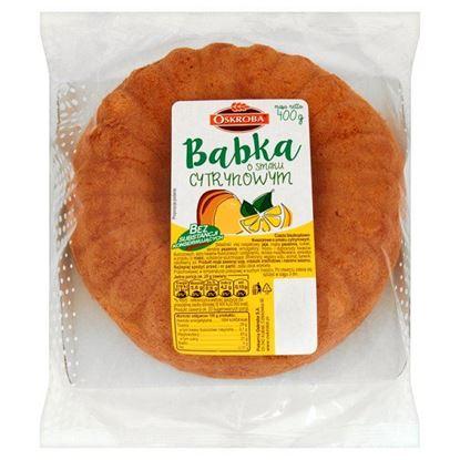 Obrazek Oskroba Babka o smaku cytrynowym 400 g