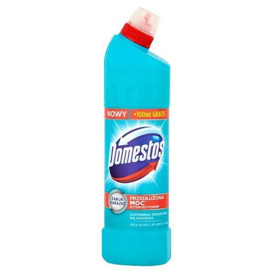Obrazek Domestos Przedłużona Moc Atlantic Fresh Płyn czyszcząco-dezynfekujący 750 ml