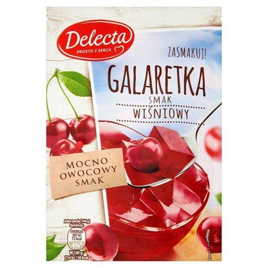 Obrazek Delecta Galaretka smak wiśniowy 75 g